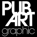 Logo Pubart graphic