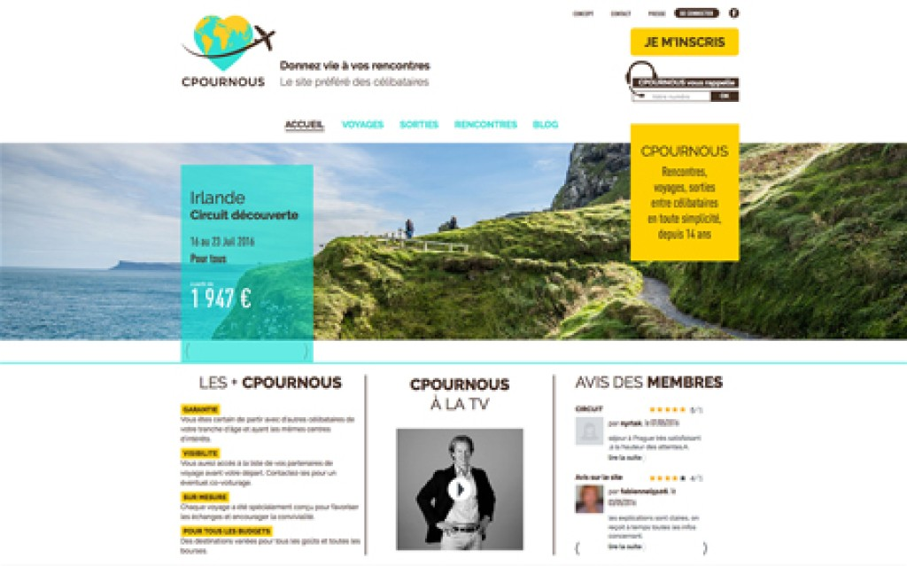 E-commerce CPourNous